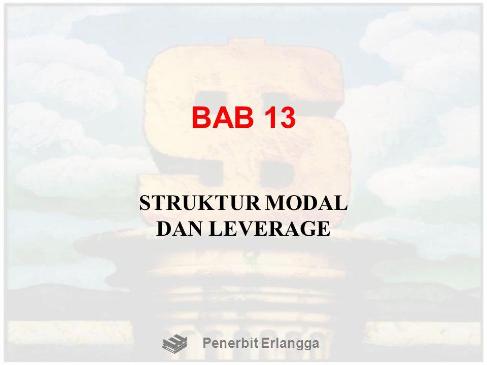 BAB 13 STRUKTUR MODAL DAN LEVERAGE Penerbit Erlangga