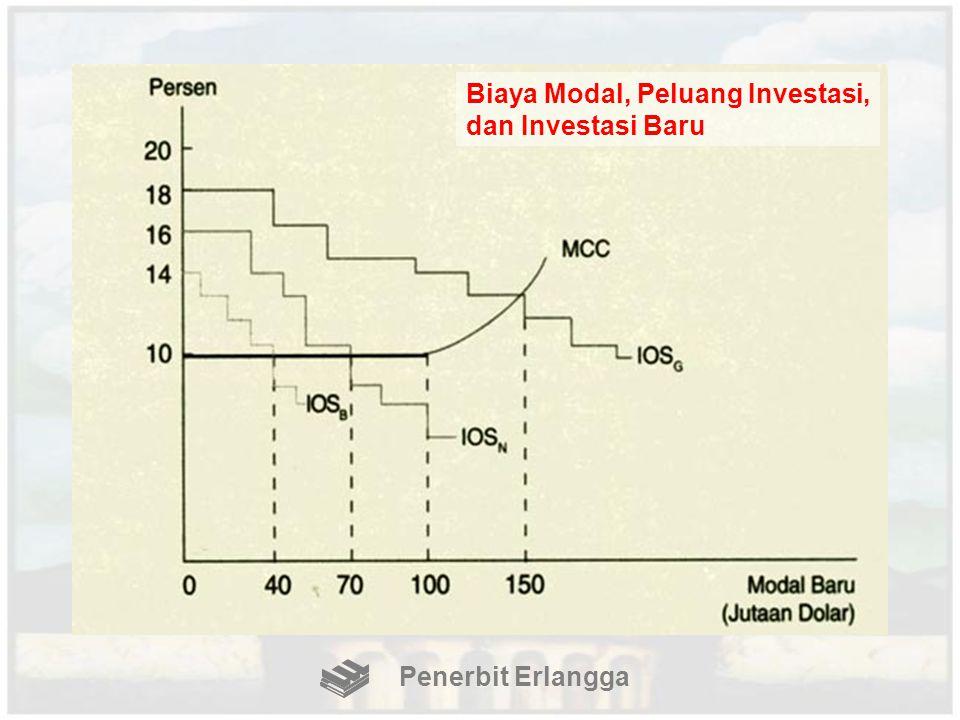 Biaya Modal, Peluang Investasi, dan Investasi Baru