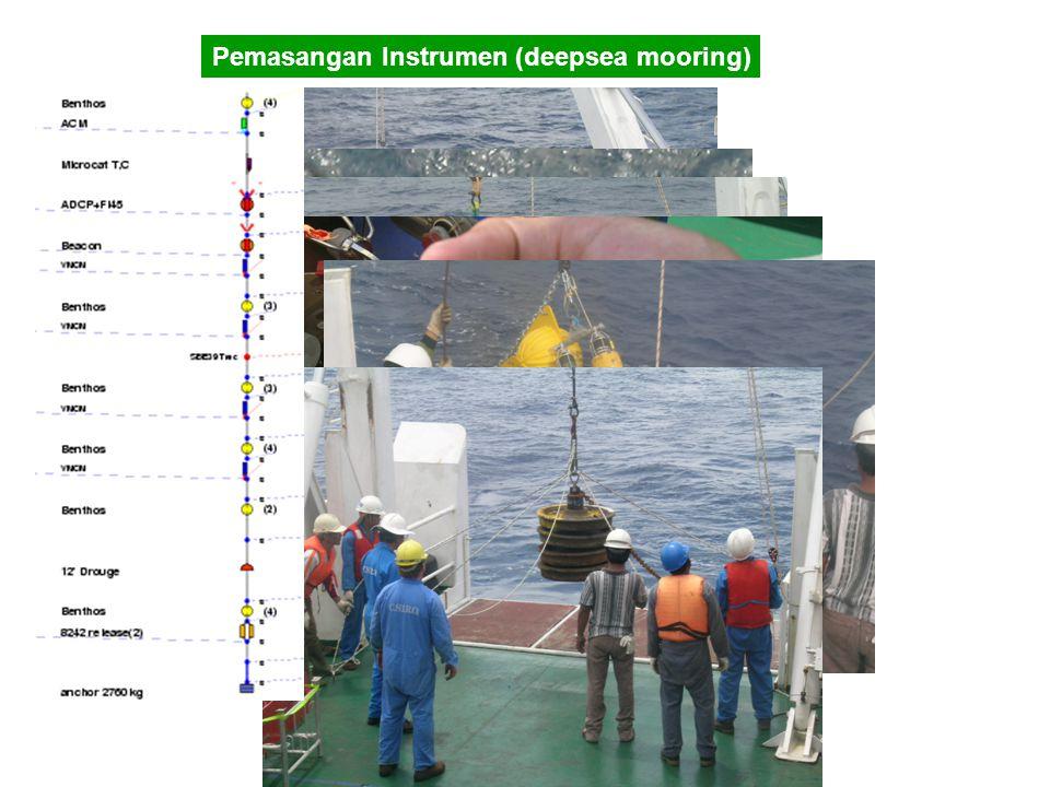 Pemasangan Instrumen (deepsea mooring)
