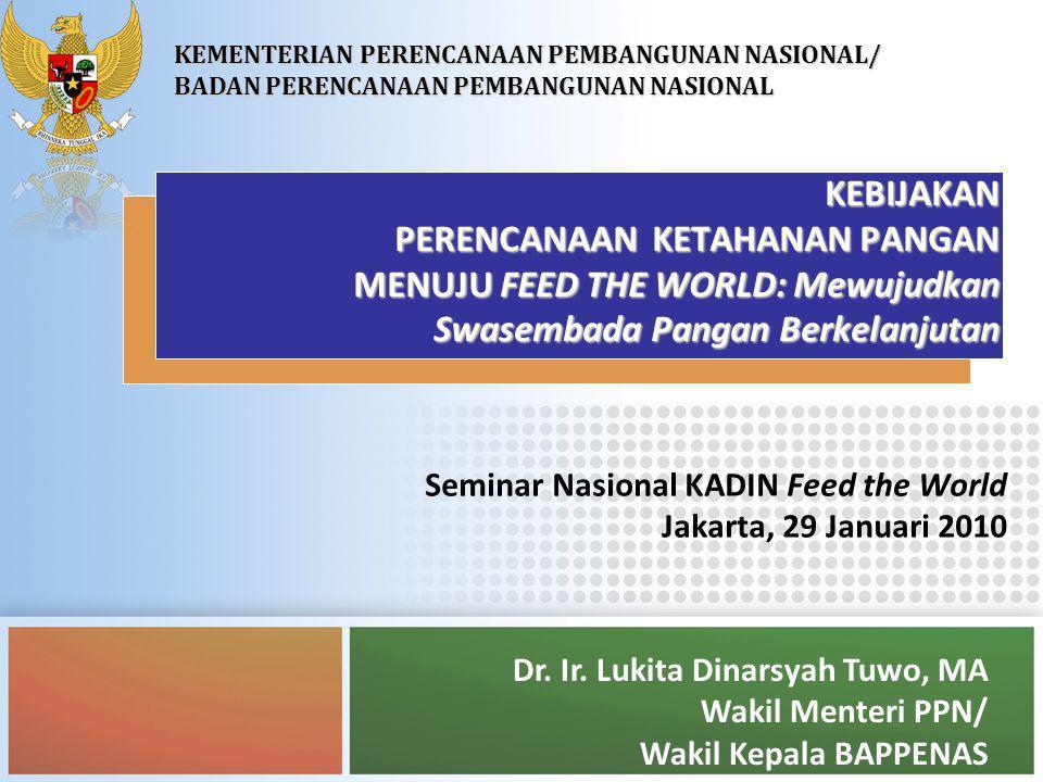 22 PENUTUP  Ke depan, dengan pengelolaan yang lebih baik, Indonesia optimis mampu mencapai kesinambungan swasembada pangan, mengingat potensi produksi yang masih besar dan kemampuan Indonesia yang terus meningkat  Feed the World .