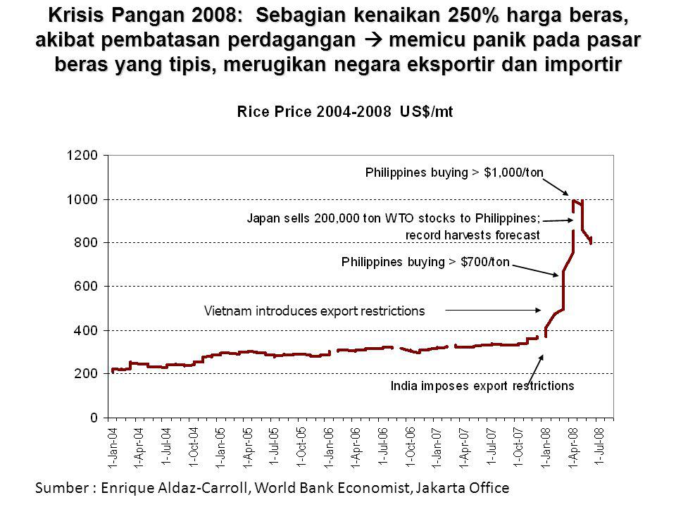 10 Source: Donald Mitchell (2008) WB, Policy Research WP 4682