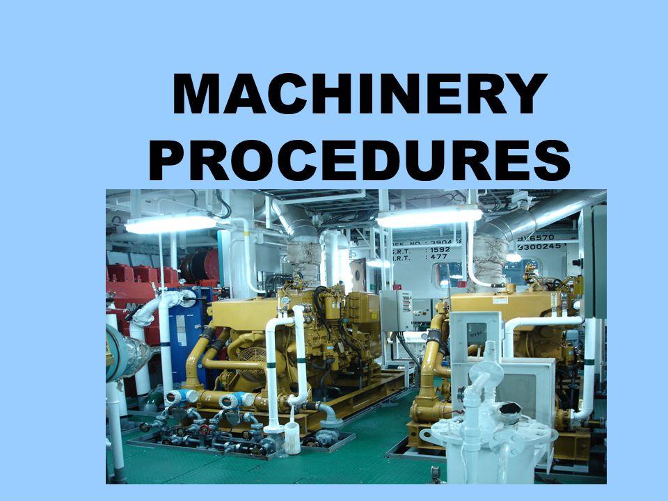 PROSEDUR PERMESINAN Bagian 1-Umum Bagian 2-Peralatan dan Mesin Geladak Kapal Bagian 3-Sistem Pipa Bagian 4-Daun Kemudi dan Sistem Kemudi Bagian 5-Mesin Induk, Baling-baling dan Shafting Bagian 6-Mesin Pelengkap Kamar Mesin Bagian 7-Prosedur Heat Exchanger Bagian 8-Prosedur Boiler / Ketel (Oil Fired and Waste Heat) Bagian 9-Prosedur Kelistrikan Bagian 10-Prosedur Instrumentasi dan Peralatan Pengendali Bagian 11-Prosedur Ruang Mesin Bagian 12-Prosedur Hot Work / Pekerjaan Panas Bagian 13-Prosedur Minyak Bahan Bakar Bagian 14-Prosedur Minyak Pelumas Bagian 15-Prosedur Penerapan Pengangkat