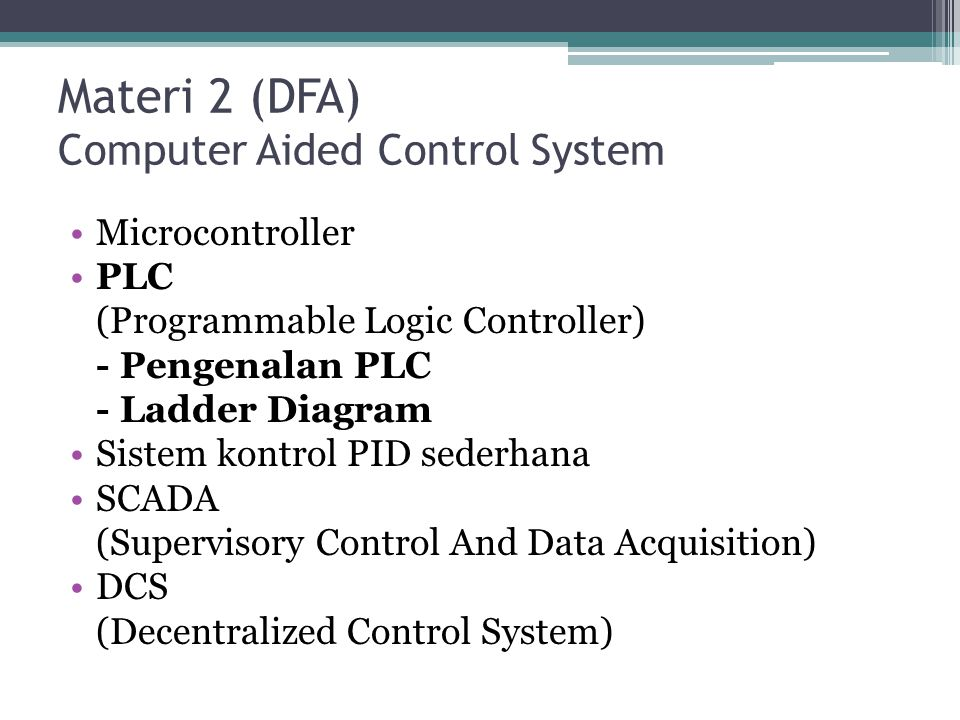 Pengenalan sistem instrumentasi dan pengendalian proses Apakah sistem instrumentasi dan pengendalian proses itu.