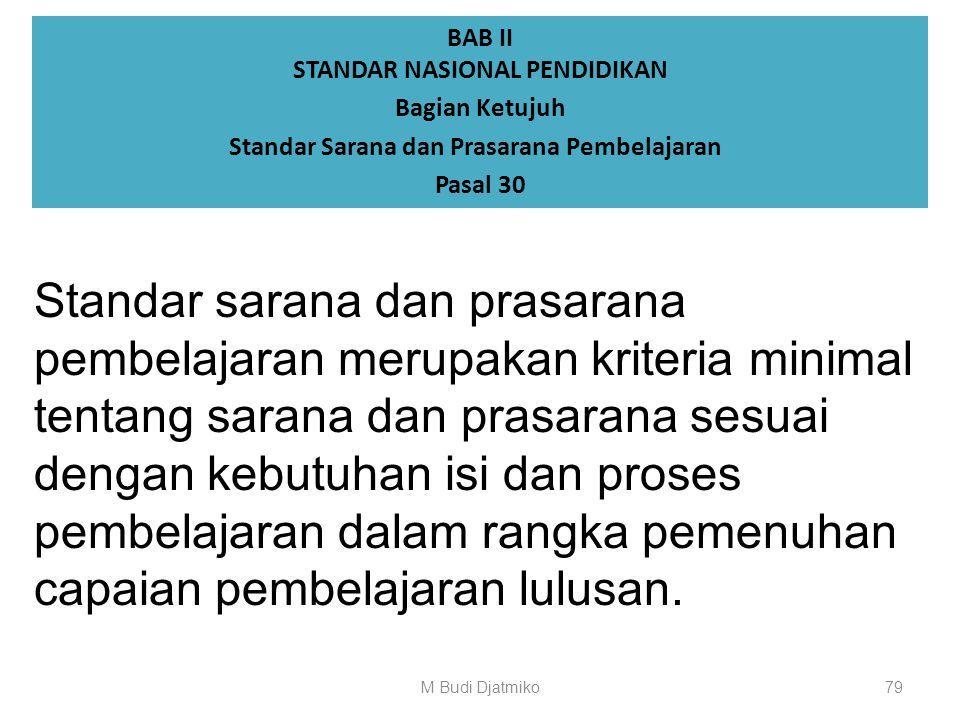 BAB II STANDAR NASIONAL PENDIDIKAN Bagian Keenam Standar Dosen dan Tenaga Kependidikan Pasal 29 (1)Tenaga kependidikan memiliki kualifikasi akademik p