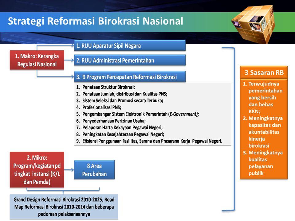 4 Strategi Reformasi Birokrasi Nasional