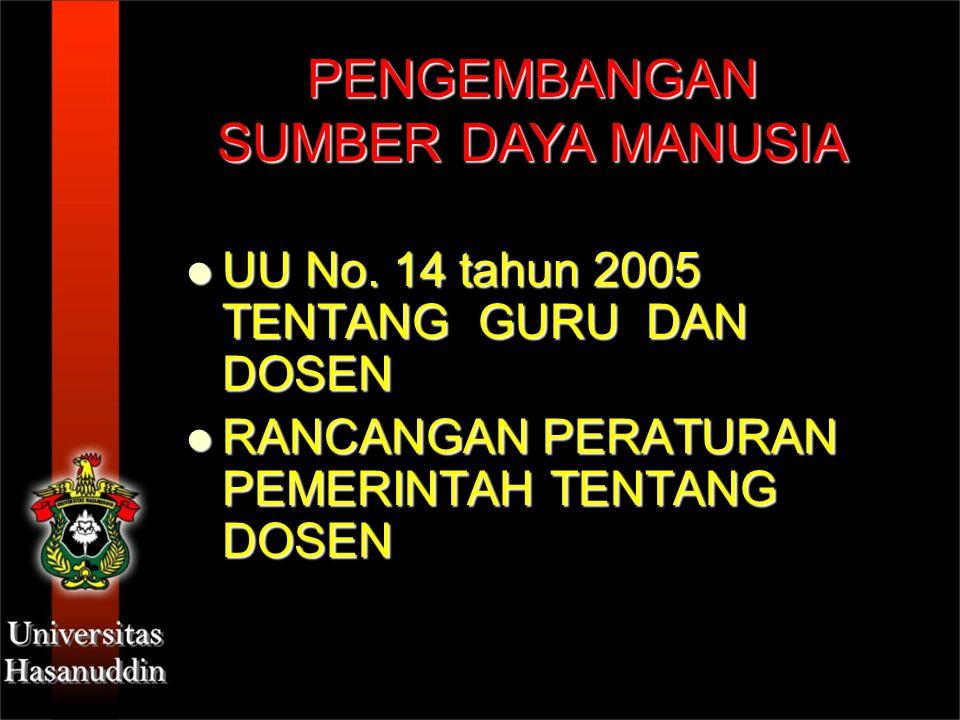 UU No. 14 tahun 2005 TENTANG GURU DAN DOSEN UU No. 14 tahun 2005 TENTANG GURU DAN DOSEN RANCANGAN PERATURAN PEMERINTAH TENTANG DOSEN RANCANGAN PERATUR