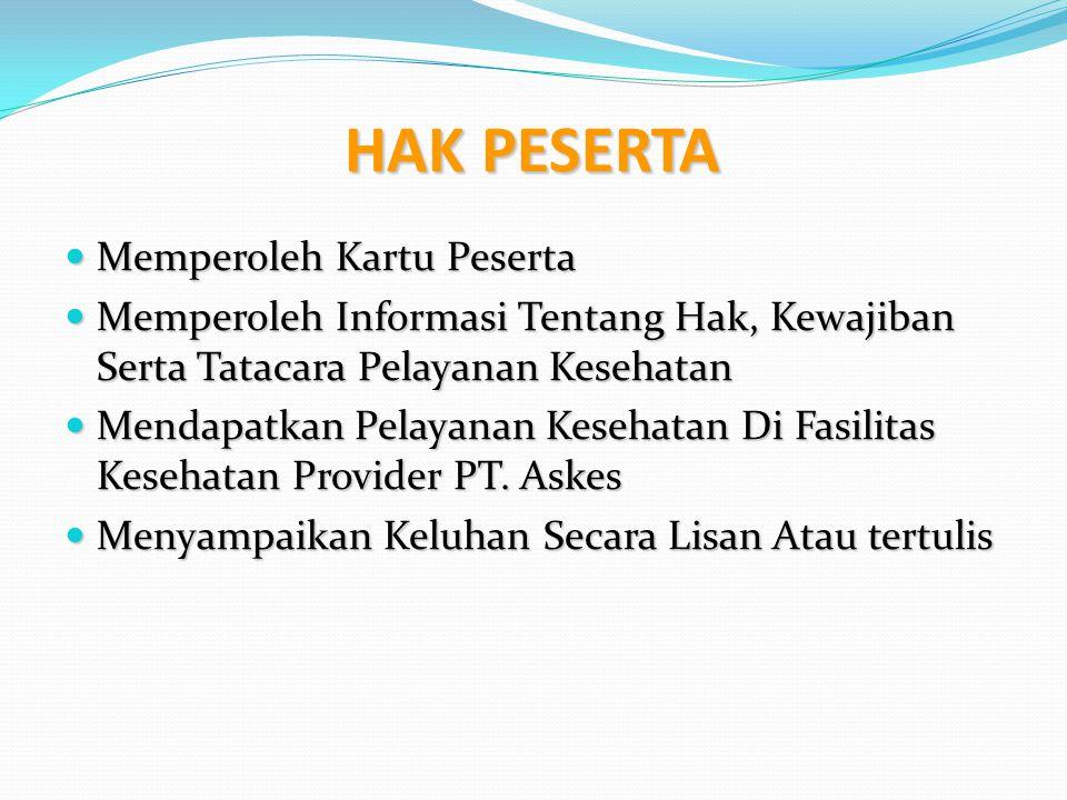Pelayanan Emergency Cukup menunjukkan Kartu ASKES Tidak perlu mengurus surat rujukan Puskesmas/dokter keluarga deh…!!.