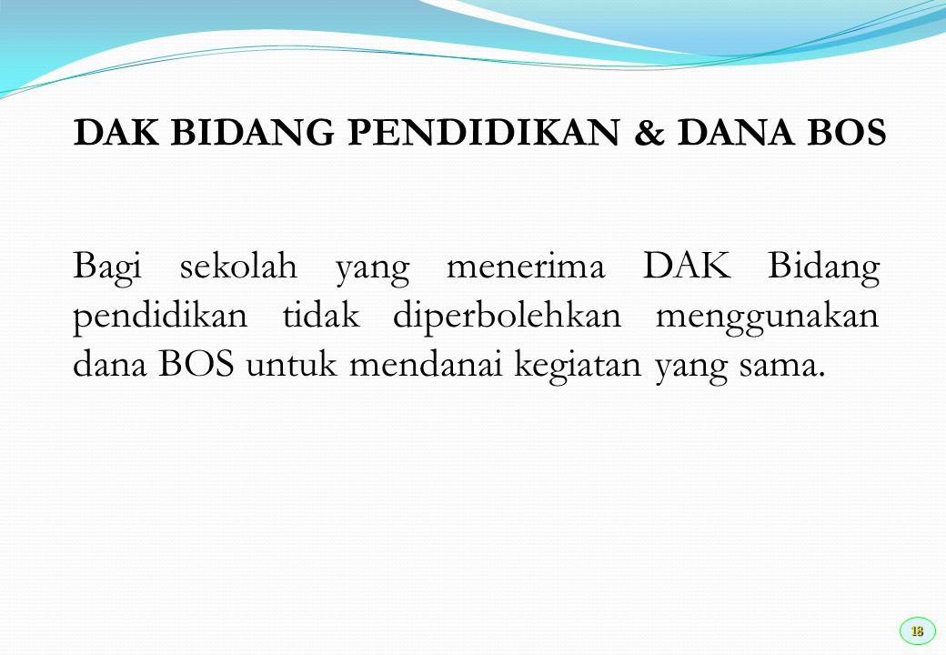 19 KEGIATAN KDH Kas Daerah BPKD/BAG KEUDINAS PENDIDIKAN KEPSEK PBPP Bid.