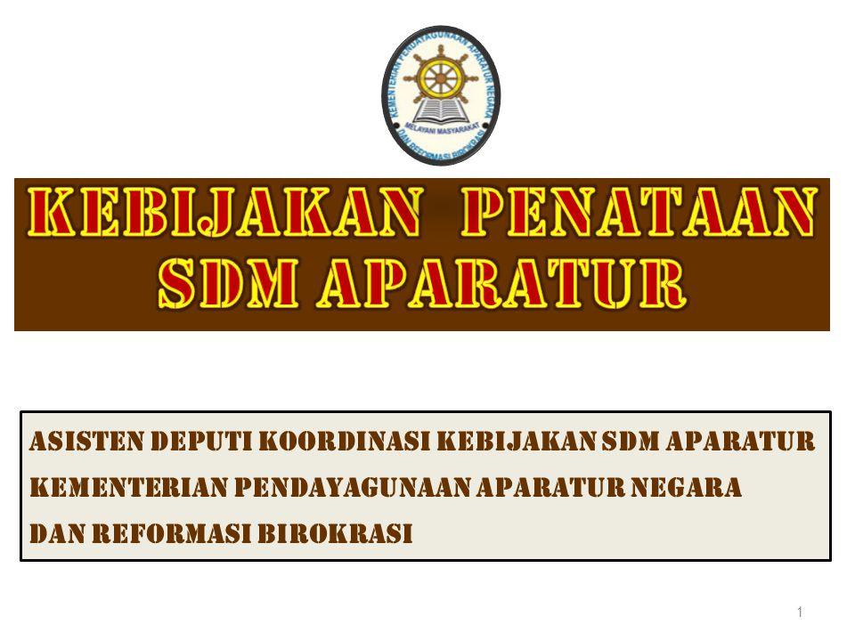 Asisten deputi koordinasi kebijakan sdm aparatur Kementerian PENDAYAGUNAAN APARATUR NEGARA dan REFORMASI BIROKRASI 1