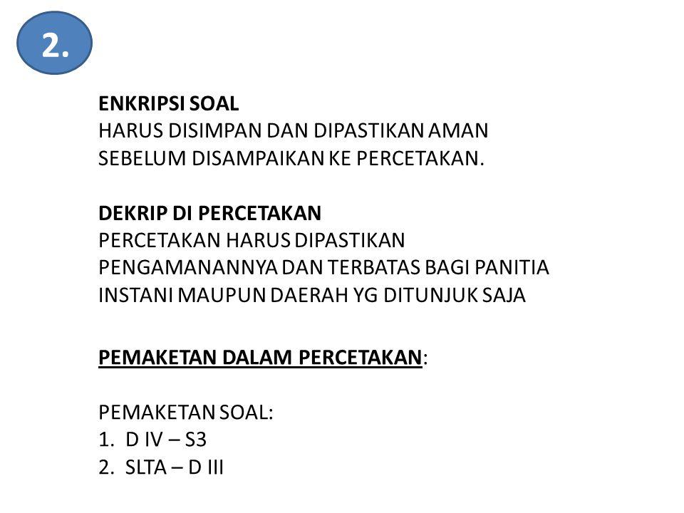 TIM KERJA PANSELNAS TAHUN 2013 (KEPMENPAN & RB NOMOR 110 TAHUN 2013) 5 TIM PENGARAH Sekretariat TIM PELAKSANA POKJA KOORDINASI DISTR.