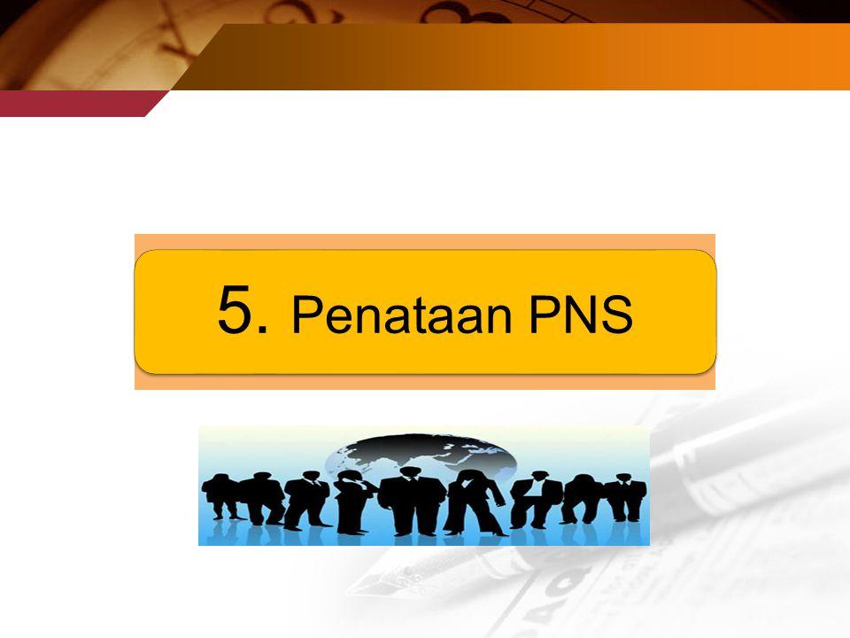 5. Penataan PNS