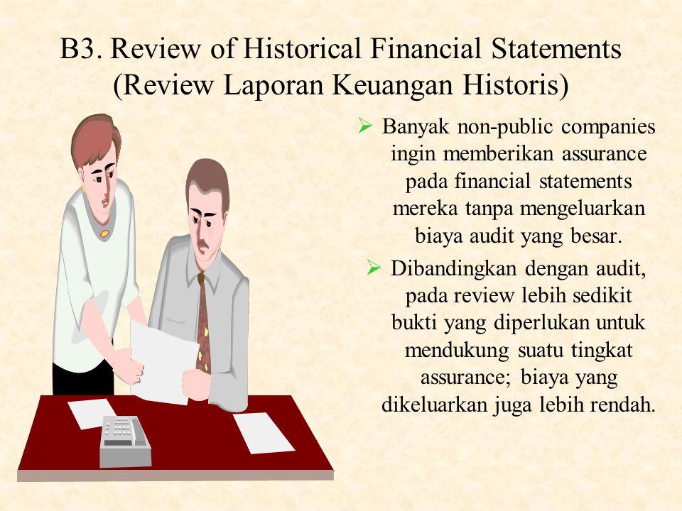 B2. Attestation on Internal Control over Financial Reporting (Atestasi terhadap Internal Control atas Pelaporan Keuangan)  Section 404 of the Sarbane
