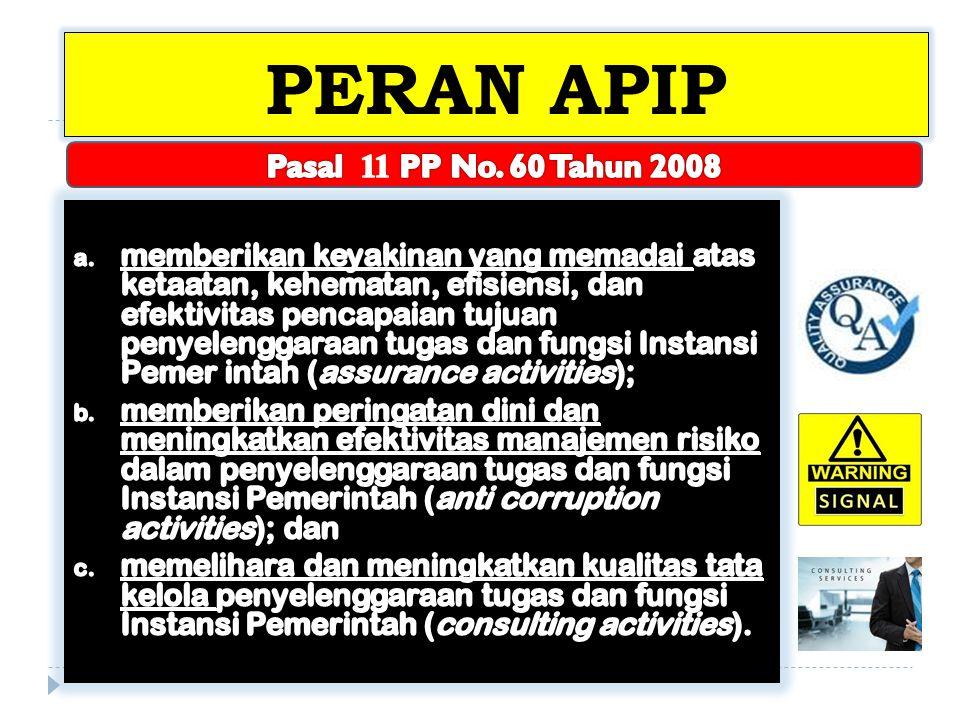 PERAN APIP