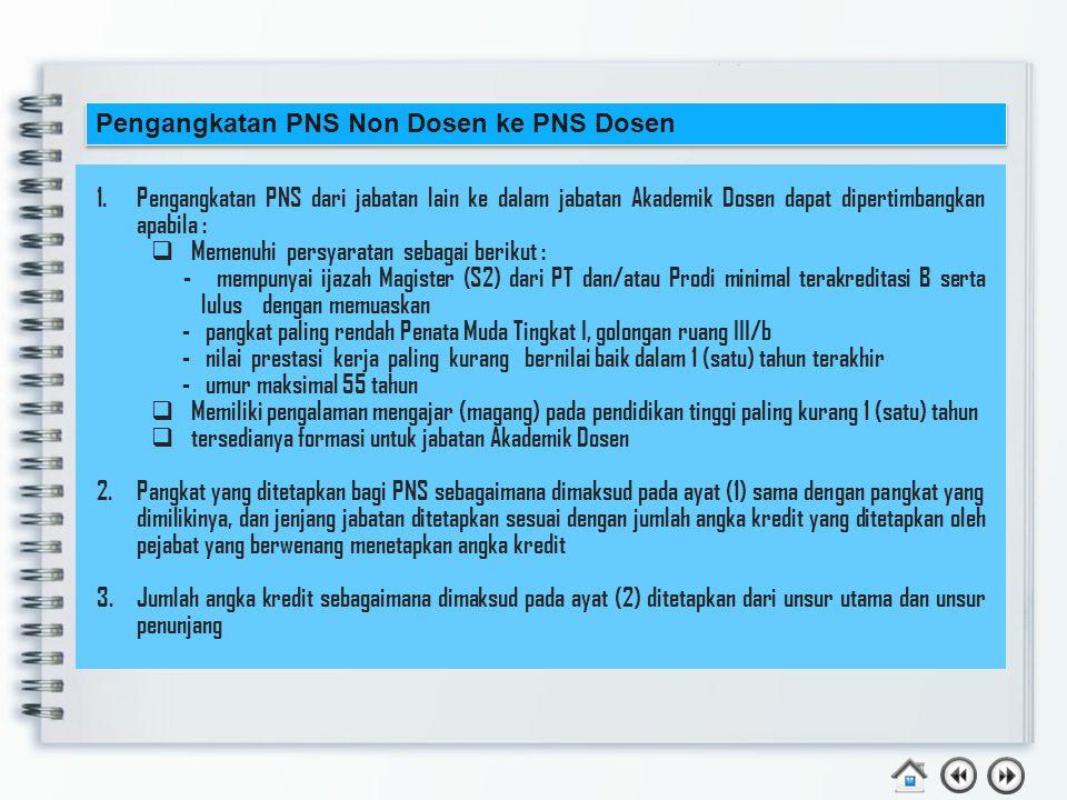 Contoh : Hilma Raimona Zadry, S.T., M.Eng.,Ph.D Adalah seorang dosen diangkat sebagai CPNS Dosen dengan kualifikasi pendidikan S3 tmt 1 Maret 2013, dan mendapat SPMT tmt 1 Juni 2013 dan tmt PNS 1 Mei 2014.