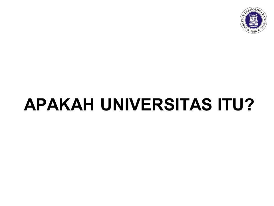 APAKAH UNIVERSITAS ITU