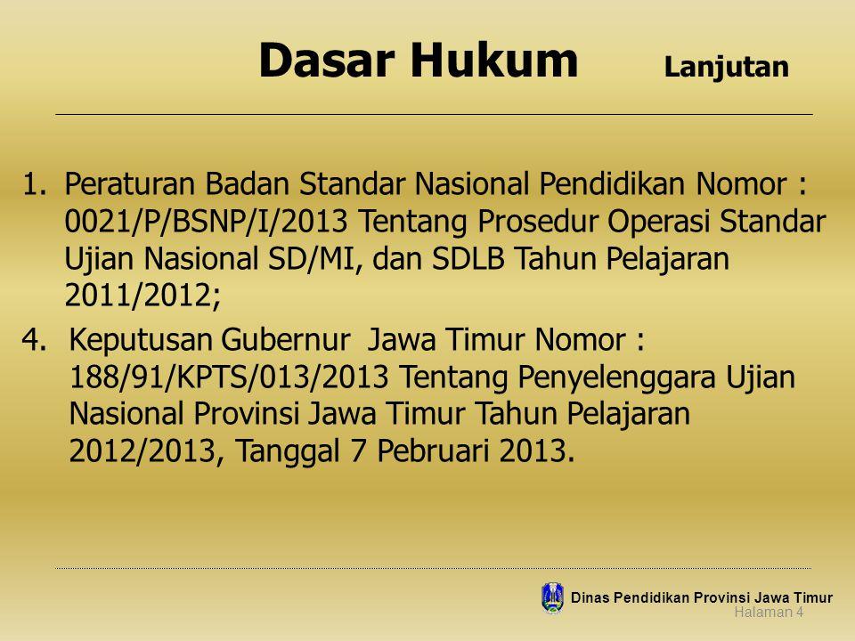 JADUAL UN TAHUN PELAJARAN 2012/2013 1.