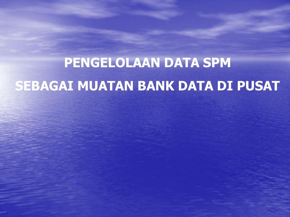 PEMANFAATAN DATA DIGUNAKAN UNTUK MUATAN BANK DATA PUSAT BAHAN PENYUSUNAN PROFIL KESEHATAN INDONESIA 2005 ?