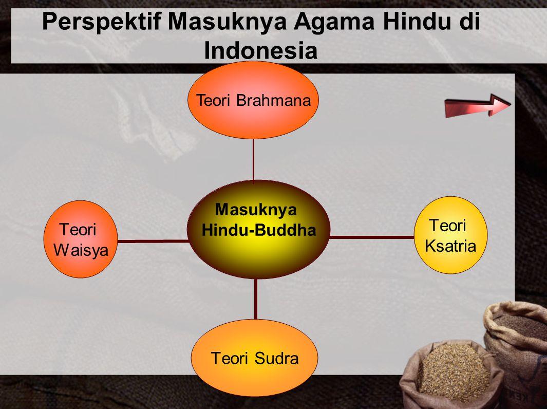 Perspektif Masuknya Agama Hindu di Indonesia Teori Brahmana