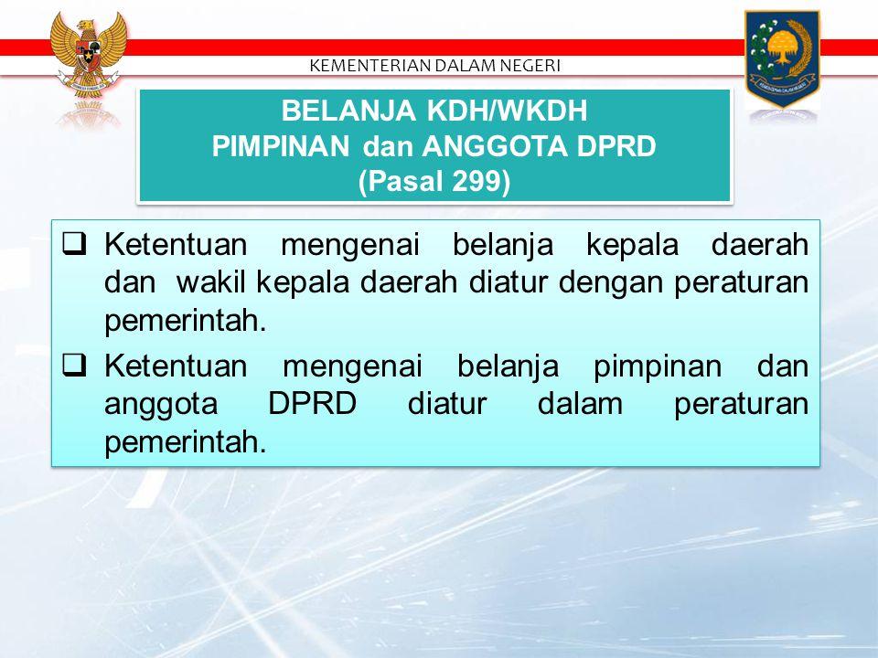  Belanja Daerah diprioritaskan untuk mendanai Urusan Pemerintahan Wajib yg terkait Pelayanan Dasar yg ditetapkan dengan SPM.  Belanja Daerah berpedo