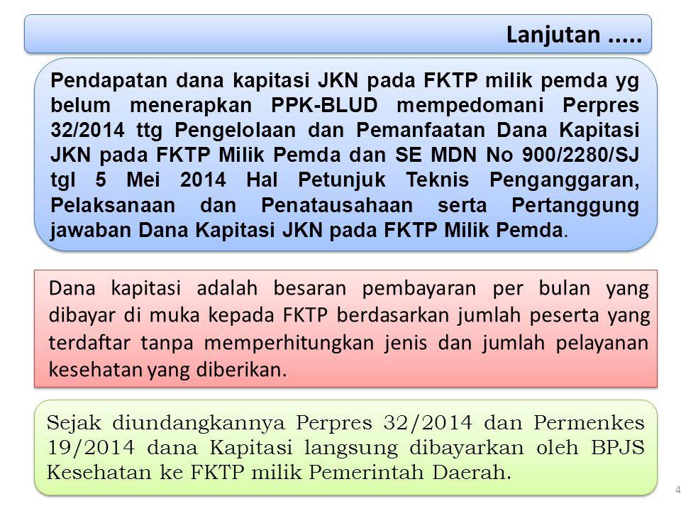 40 Pasal 39 ayat (1) Perpres 12/2013 tentang Jaminan Kesehatan sebagaimana telah diubah dengan Perpres 111/2013 tentang Perubahan Atas Perpres 12/2013