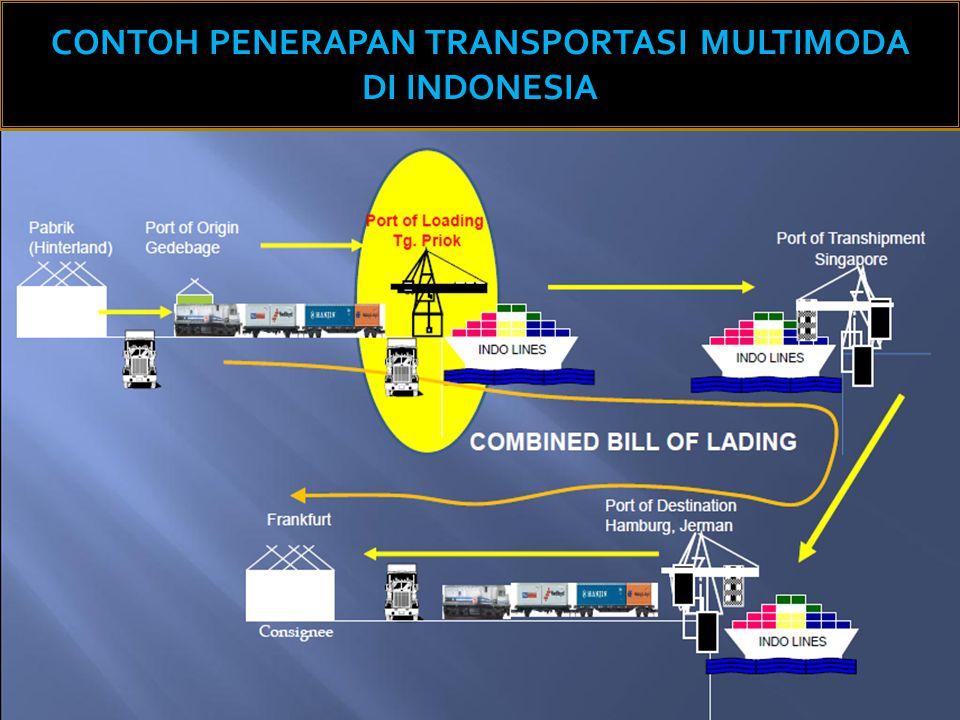 10 CONTOH PENERAPAN TRANSPORTASI MULTIMODA DI INDONESIA