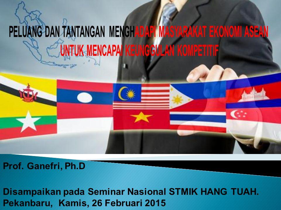 Prof.Ganefri, Ph.D Disampaikan pada Seminar Nasional STMIK HANG TUAH.
