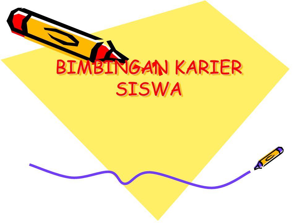 BIMBINGAN KARIER SISWA