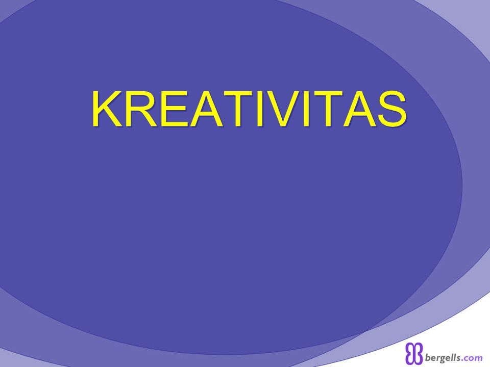C.PERANAN KREATIVITAS 1.Dalam penciptaan hal-hal yang baru.