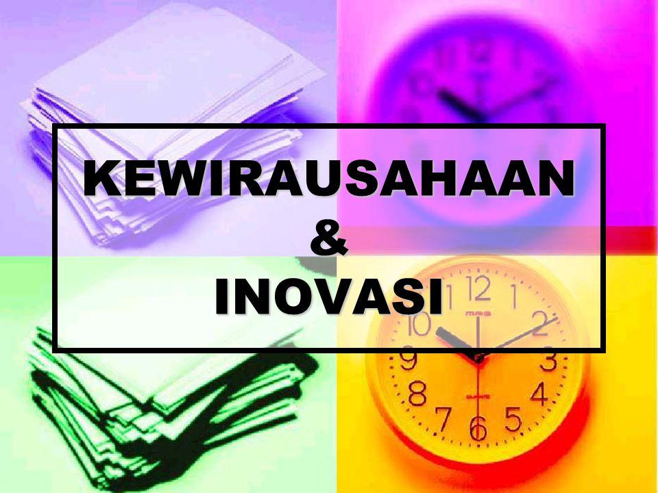 KEWIRAUSAHAAN & INOVASI