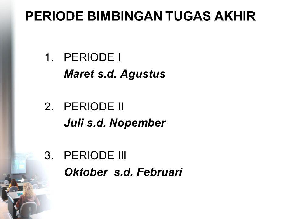 TANGGAL-TANGGAL PENTING 01 - 06 Agustus 2008Pendaftaran Ujian TA D.III 12 Agustus - 06 September 2008Ujian Sidang TA D.III 19 September 2008Pengumuman Ujian Sidang TA Periode I 19 - 25 September 2008Pendaftaran Wisuda Via Website 28 Okt - 06 Nop 2008Pembagian Toga dan Undangan Wisuda 22 - 23 Nopember 2008Wisuda Jakarta (JCC)