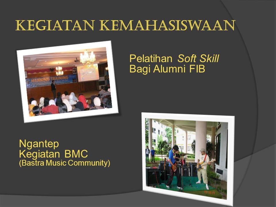 Kegiatan Kemahasiswaan Pelatihan Soft Skill Bagi Alumni FIB Ngantep Kegiatan BMC (Bastra Music Community)