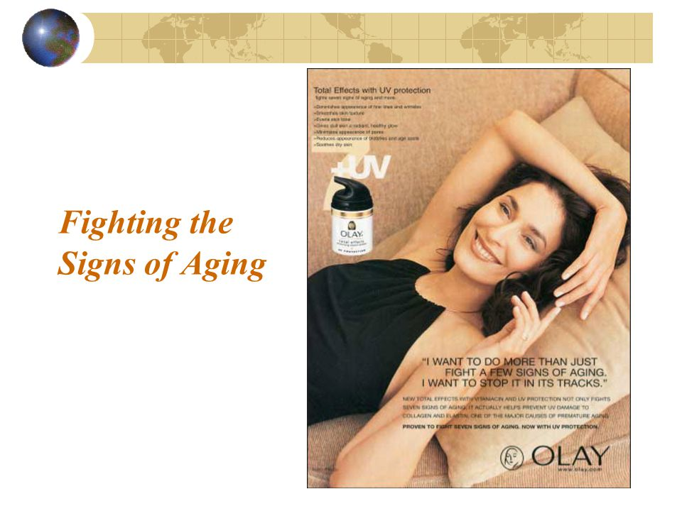 Fighting the Signs of Aging