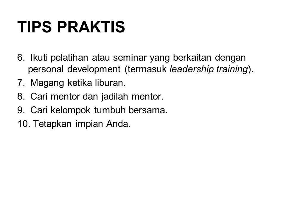 TIPS PRAKTIS 6.