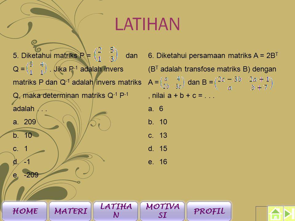 LATIHAN 3.