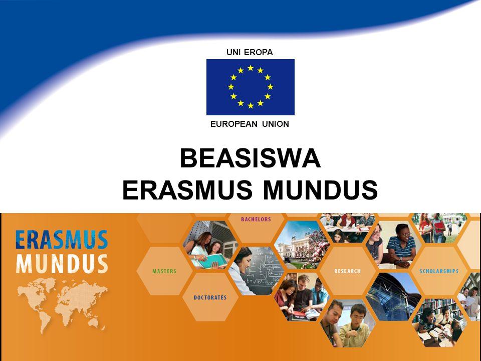 BEASISWA ERASMUS MUNDUS EUROPEAN UNION UNI EROPA