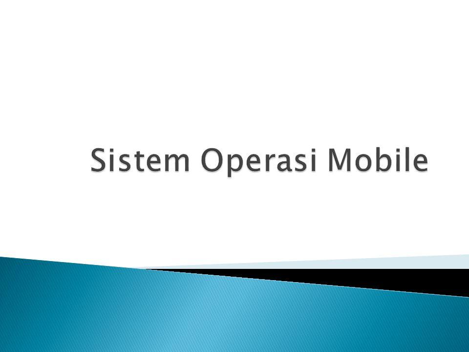  Sistem operasi (operating system ) adalah perangkat lunak sistem yang bertugas untuk melakukan kontrol eksekusi program aplikasi dan manajemen perangkat keras serta operasi-operasi dasar sistem, termasuk menjalankan software aplikasi seperti program-program pengolah kata dan browser web.