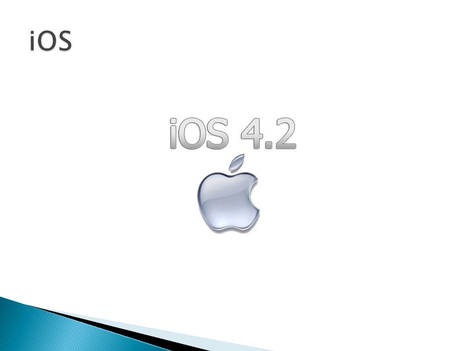  iOS adalah sistem operasi perangkat genggam dari Apple.