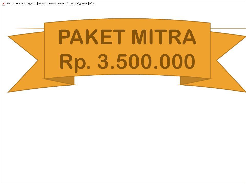 PAKET MITRA Rp. 3.500.000