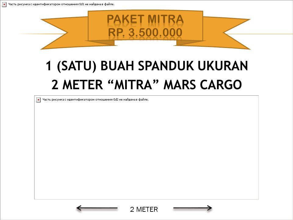 """1 (SATU) BUAH SPANDUK UKURAN 2 METER """"MITRA"""" MARS CARGO 2 METER"""