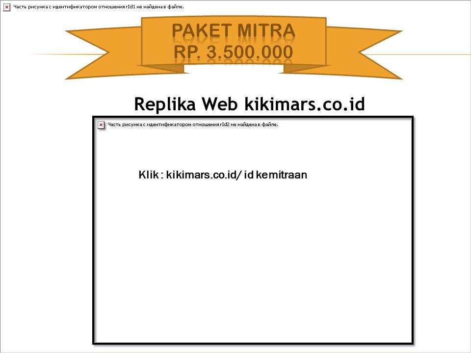 Replika Web kikimars.co.id Klik : kikimars.co.id/ id kemitraan