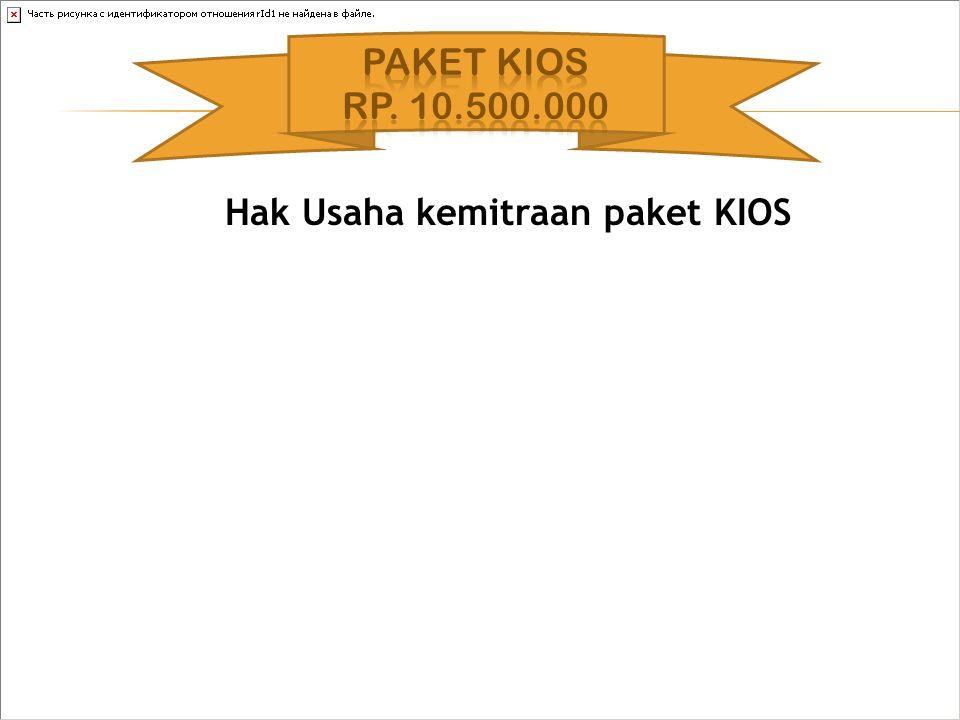 Hak Usaha kemitraan paket KIOS