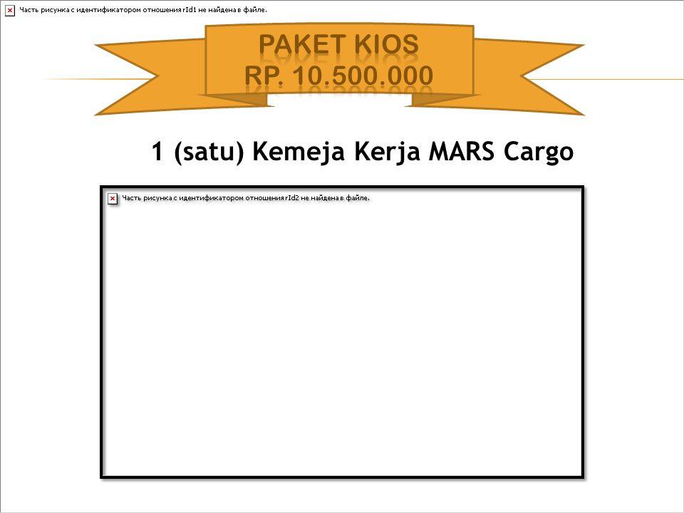 1 (satu) Kemeja Kerja MARS Cargo
