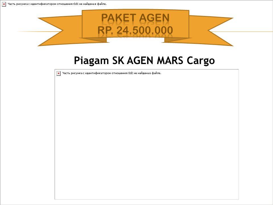 Piagam SK AGEN MARS Cargo