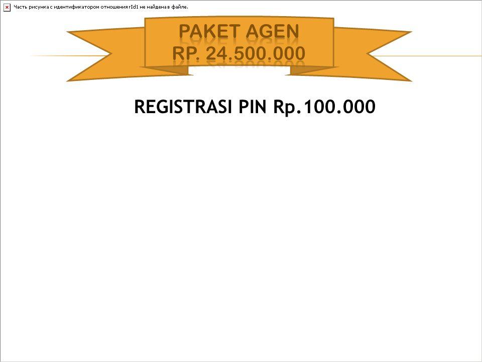 REGISTRASI PIN Rp.100.000