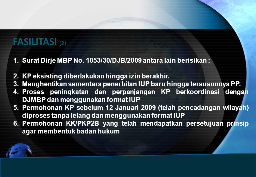 FASILITASI (2) 1.Surat Dirje MBP No.