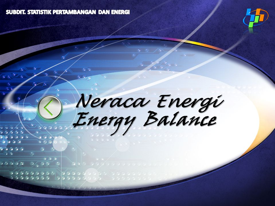 Neraca Energi Energy Balance