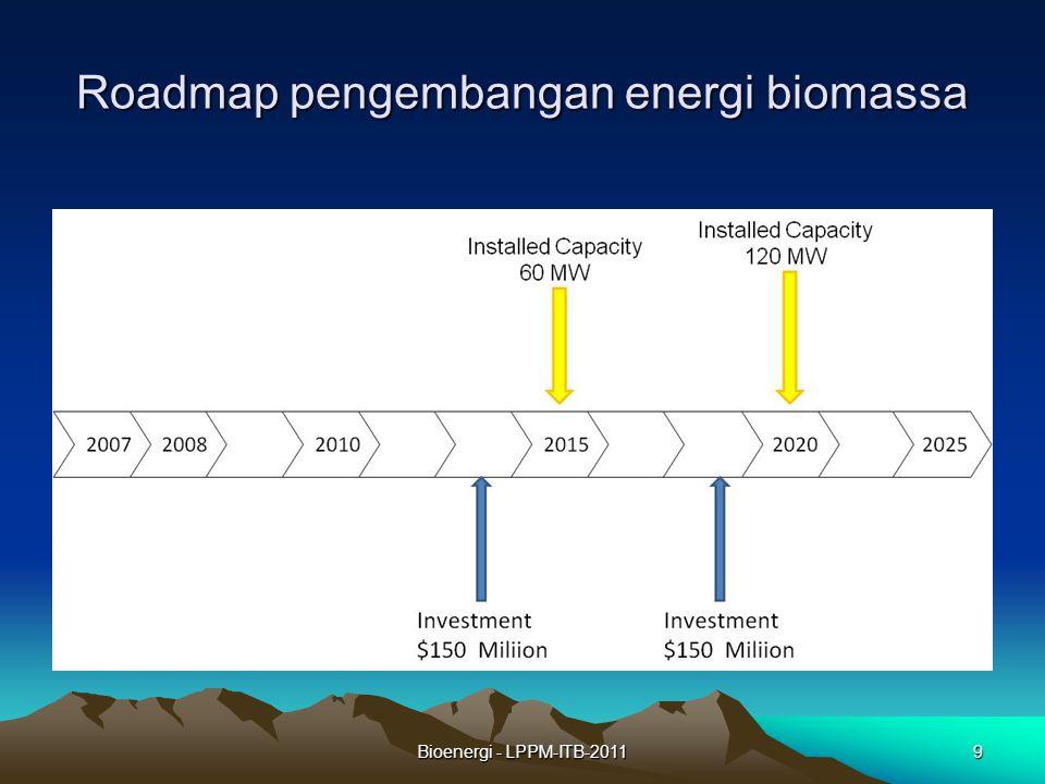 Bioenergi - LPPM-ITB-20119 Roadmap pengembangan energi biomassa