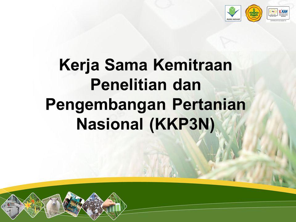 Kerja Sama Kemitraan Penelitian dan Pengembangan Pertanian Nasional (KKP3N)