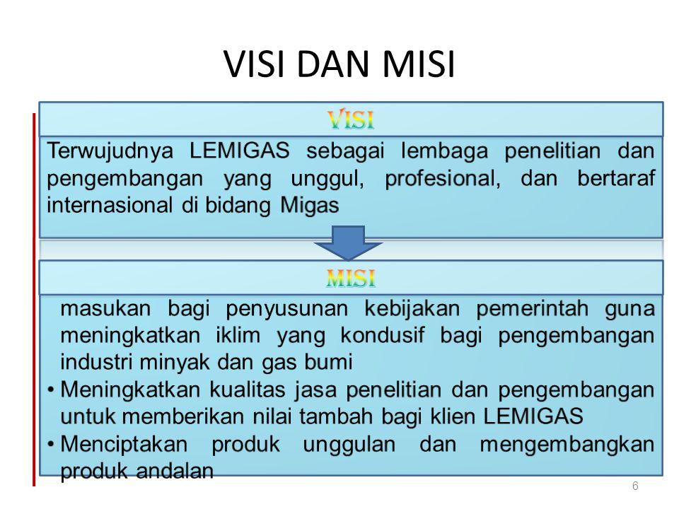 VISI DAN MISI 6