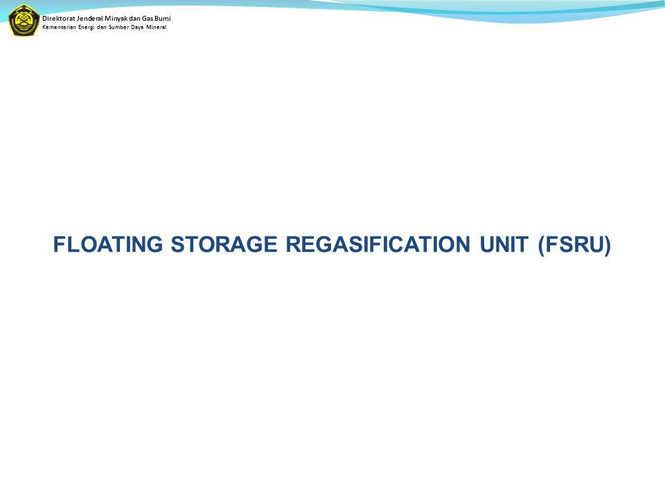 Direktorat Jenderal Minyak dan Gas Bumi Kementerian Energi dan Sumber Daya Mineral FLOATING STORAGE REGASIFICATION UNIT (FSRU)